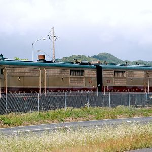 NVWT - Alco FP's pulling the Wine Train