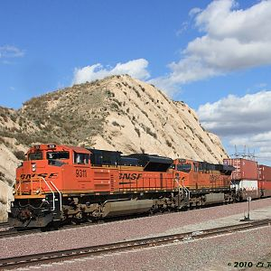BNSF EMD Power Out West