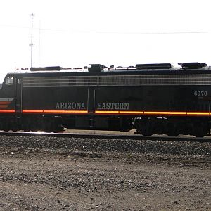Arizona Eastern E8 conductor's side