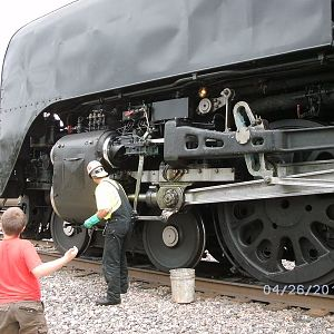 Brakeman checking things out in Coffeyville, KS
