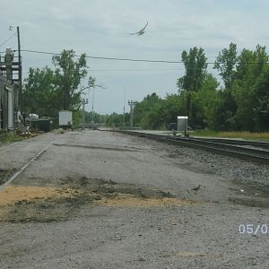 Baxter Springs yards, southern view