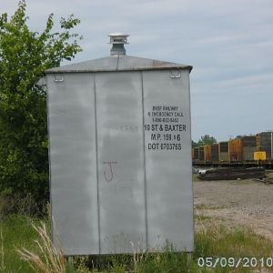 BNSF Shack, Baxter Springs