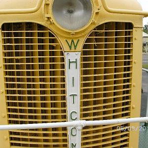Grill detail, Whitcomb Locomotive