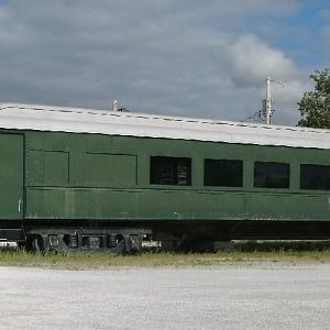 Restored Jersey Central Passenger car