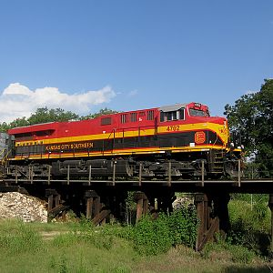 KCS 4702 South at Moore, Tx