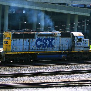 CSX 8089 South In Nashville