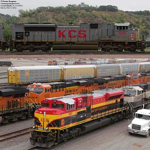 KCS SD70ACes
