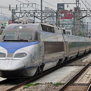 KORAIL series KTX on Gyeongbu line