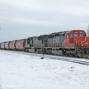 CN Switching at Dauphin, MB.