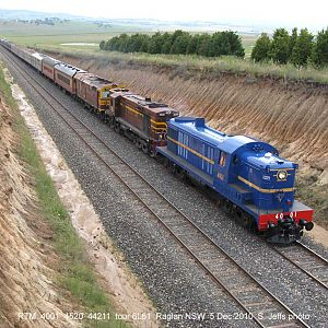 Steves downunder trains