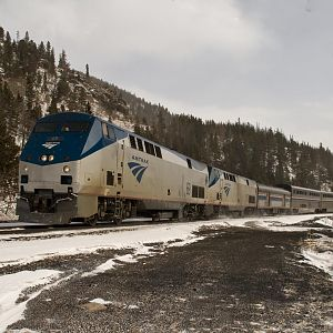 AMTRAK NO5 Zephyr West Bound