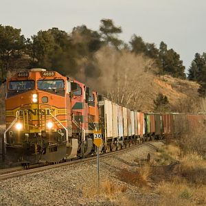BNSF,FERROMEX  MIXED LOAD