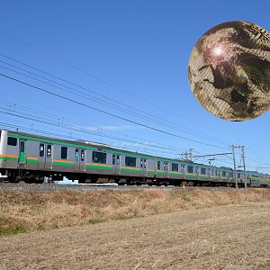 IR local train in the planet Iscandar
