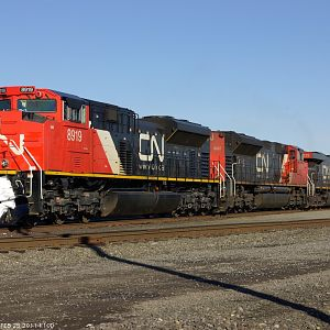 CN power at Auburn WA
