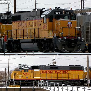 More UP GP38-2s