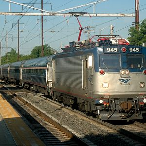 Amtrak in Seabrook, Md