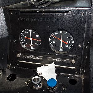 Inside the Cab of Sounder Cab Car #101
