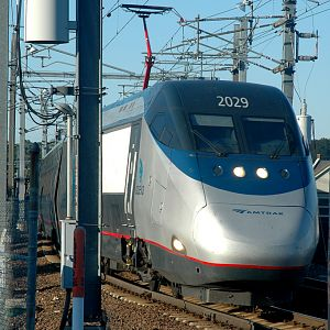 Acela in New London