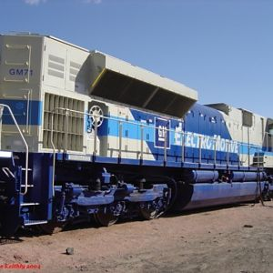 SD70ACe #GM71
