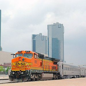 BNSF 812 on Officers Special