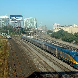 VIA Rail and GO in Toronto