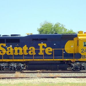 Santa Fe GP30 Deadline Temple, Texas
