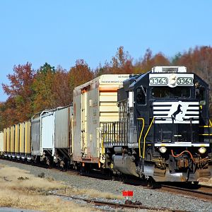 NS H42 local pass through Ellendale, Delaware