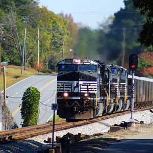 NS Rock Train Heading West