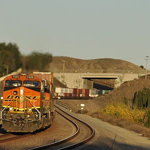 BNSF's Steel Freeway