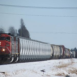 CN at Gilbert Plains