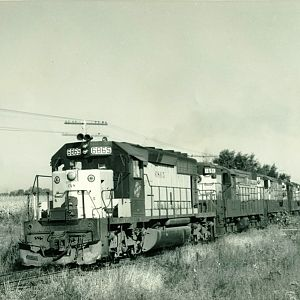 C&NW funeral train
