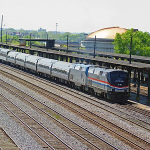 Amtrak Commemortive Unit At Birmingham