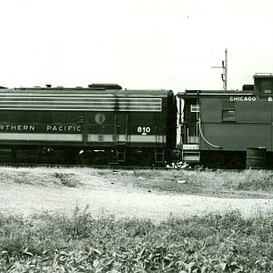 NorthernPacific F9 C&IM Havana Illinois 7/25/1970