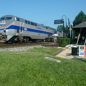 Amtrak in Kensington