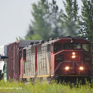 CN at Roblin, MB.