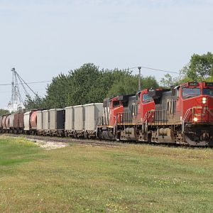 CN 852 at Gilbert Plains