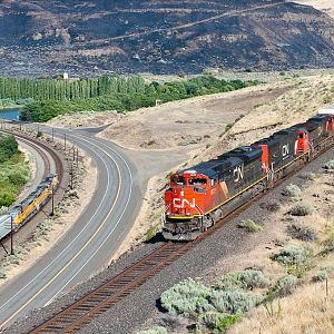 CN Power on the Oregon Trunk