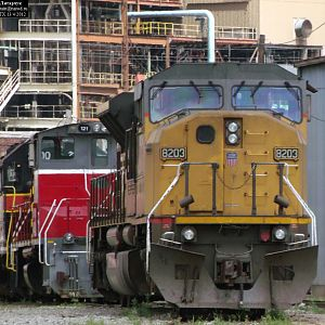 UP 8203 SD90MAC