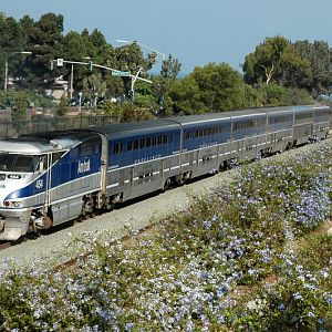 Amtrak in Solana Beach