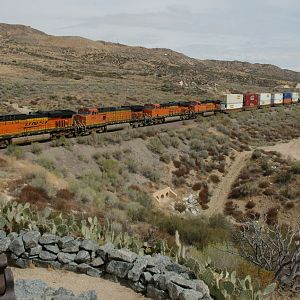 BNSF Intermodel at Cajon Pass