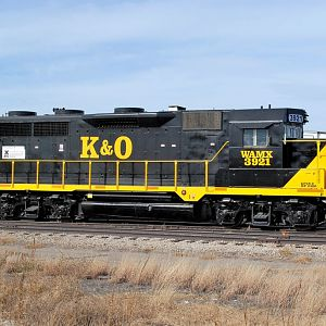 K&O(WAMX) 3921 at Great Bend KS