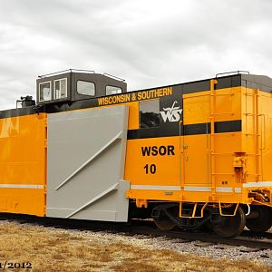W&S wedge snowplow