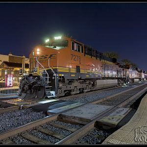 BNSF 7278 waiting on track 2
