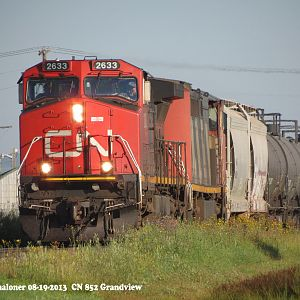CN at Grandview, MB.