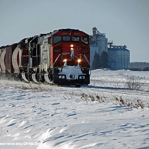 CN on Clear Cold Day