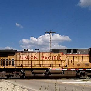 Union Pacific Empty Coal Drag in Momence, IL
