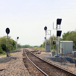 Lots of Signals at East Mathews Siding