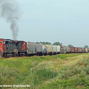 CN 546 on Carberry Subdivision
