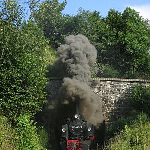 At the tunnel Thumkuhlenkopf at WR, 99 5906 on 24/07/2014