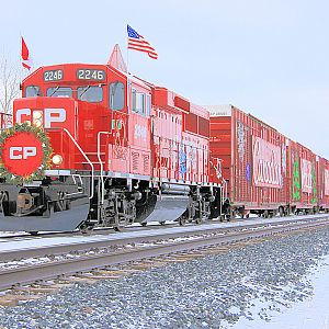 CP Rail #2246 Holiday Train